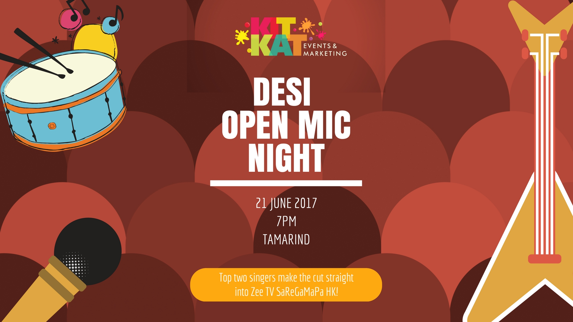 DESI OPEN MIC NIGht